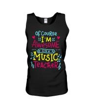 I'm a Music Teacher Unisex Tank thumbnail