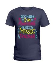 I'm a Music Teacher Ladies T-Shirt thumbnail