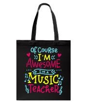 I'm a Music Teacher Tote Bag thumbnail