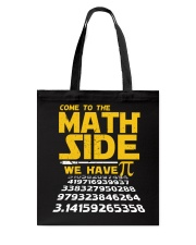 come to the math side Tote Bag thumbnail