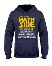 come to the math side Hooded Sweatshirt thumbnail