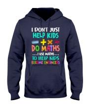 Math Help Kids Hooded Sweatshirt thumbnail
