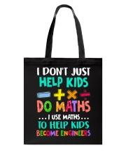 Math Help Kids Tote Bag thumbnail