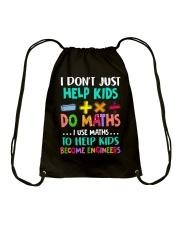 Math Help Kids Drawstring Bag thumbnail