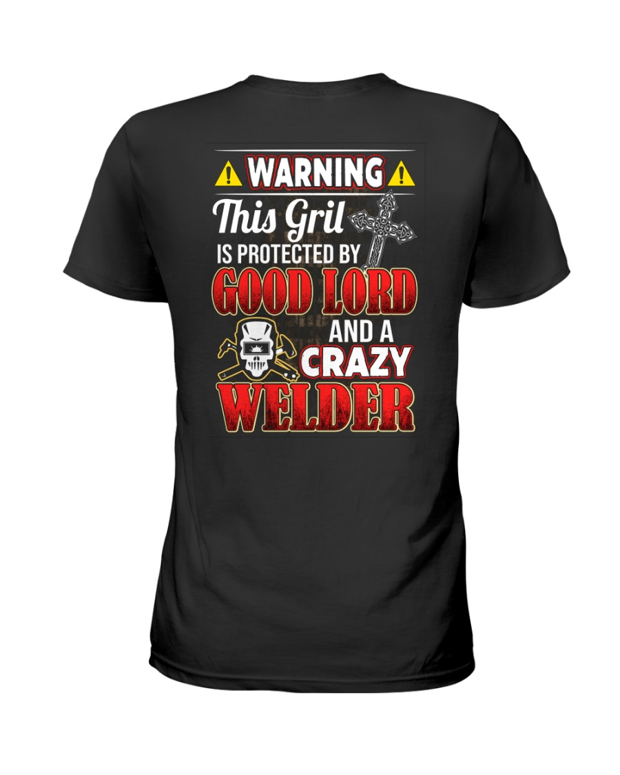 Crazy Welder Ladies T-Shirt