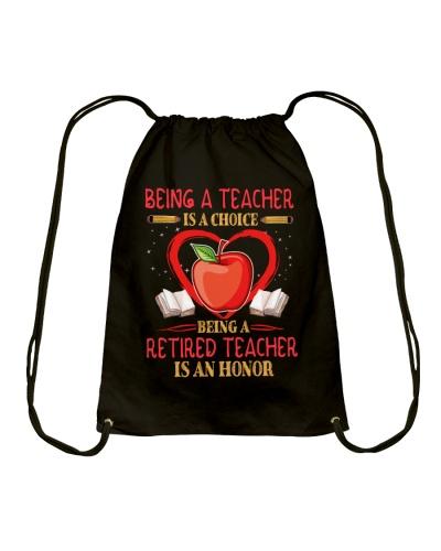 Being a teacher is a choice