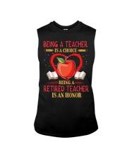 Being a teacher is a choice Sleeveless Tee thumbnail