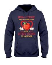 Being a teacher is a choice Hooded Sweatshirt thumbnail