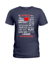In 1st grade We are Family Ladies T-Shirt thumbnail