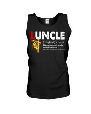 Luncle Lineman Unisex Tank thumbnail