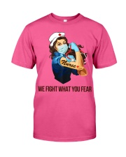 We fight what you fear Classic T-Shirt thumbnail