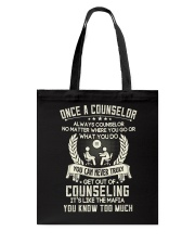 Once a Counselor Tote Bag thumbnail