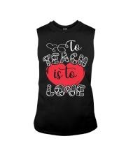 TO TEACH IS TO LOVE Sleeveless Tee thumbnail