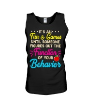 It's all fun and game Unisex Tank thumbnail