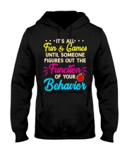It's all fun and game Hooded Sweatshirt thumbnail