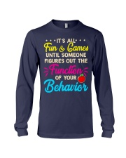 It's all fun and game Long Sleeve Tee thumbnail