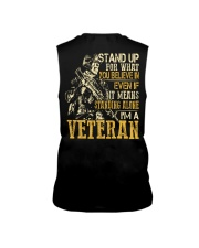 I'm A Veteran Sleeveless Tee thumbnail