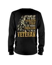 I'm A Veteran Long Sleeve Tee thumbnail