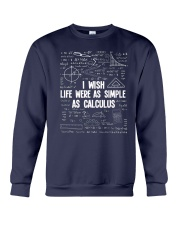 I wish life were as simple as caculus Crewneck Sweatshirt thumbnail