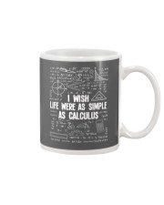 I wish life were as simple as caculus Mug thumbnail