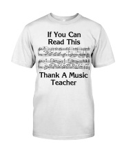 Thank a Music Teacher Classic T-Shirt thumbnail