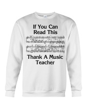 Thank a Music Teacher Crewneck Sweatshirt thumbnail
