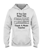 Thank a Music Teacher Hooded Sweatshirt tile