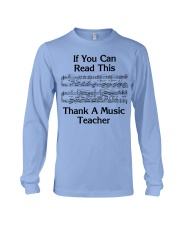 Thank a Music Teacher Long Sleeve Tee tile