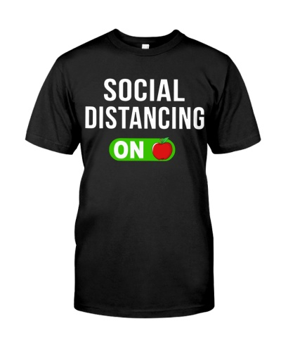 Social distancing ON