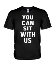 You Can Sit With Us V-Neck T-Shirt thumbnail