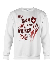 Keep calm i am a nurse Crewneck Sweatshirt thumbnail