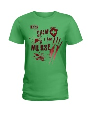Keep calm i am a nurse Ladies T-Shirt thumbnail