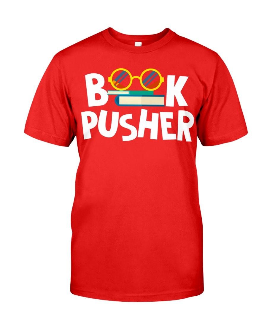BOOK PUSHER Classic T-Shirt