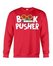 BOOK PUSHER Crewneck Sweatshirt thumbnail