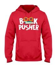 BOOK PUSHER Hooded Sweatshirt thumbnail