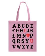 I LOVE YOU  Tote Bag thumbnail