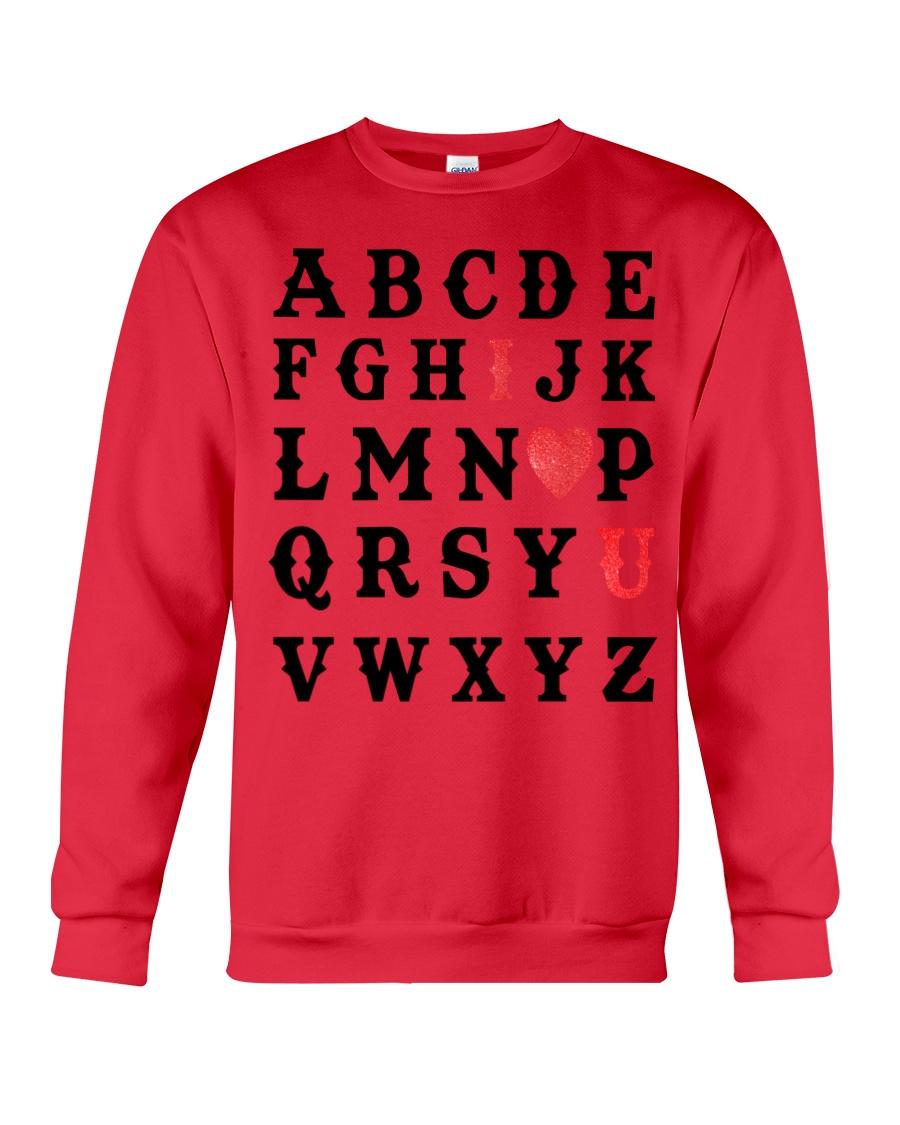 I LOVE YOU  Crewneck Sweatshirt