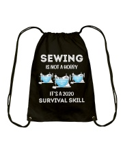 It's a 2020 survival skill Drawstring Bag thumbnail