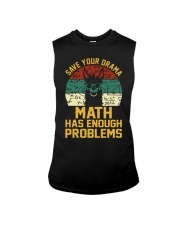 SAVE YOUR DRAMA MATH HAS ENOUGH PROBLEMS Sleeveless Tee thumbnail