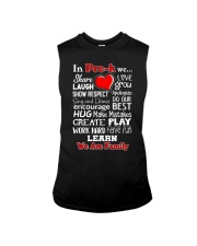 In Pre-k We are Family Sleeveless Tee thumbnail