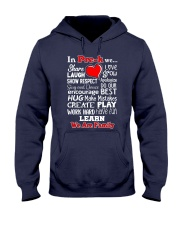 In Pre-k We are Family Hooded Sweatshirt thumbnail