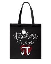 Teachers love Pi Tote Bag thumbnail