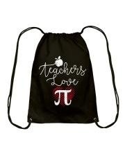 Teachers love Pi Drawstring Bag thumbnail