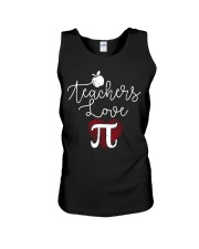 Teachers love Pi Unisex Tank thumbnail