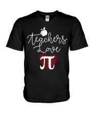 Teachers love Pi V-Neck T-Shirt thumbnail