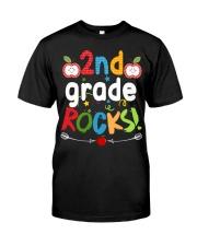 2nd grade rocks Classic T-Shirt front