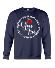 Teacher Love Crewneck Sweatshirt thumbnail