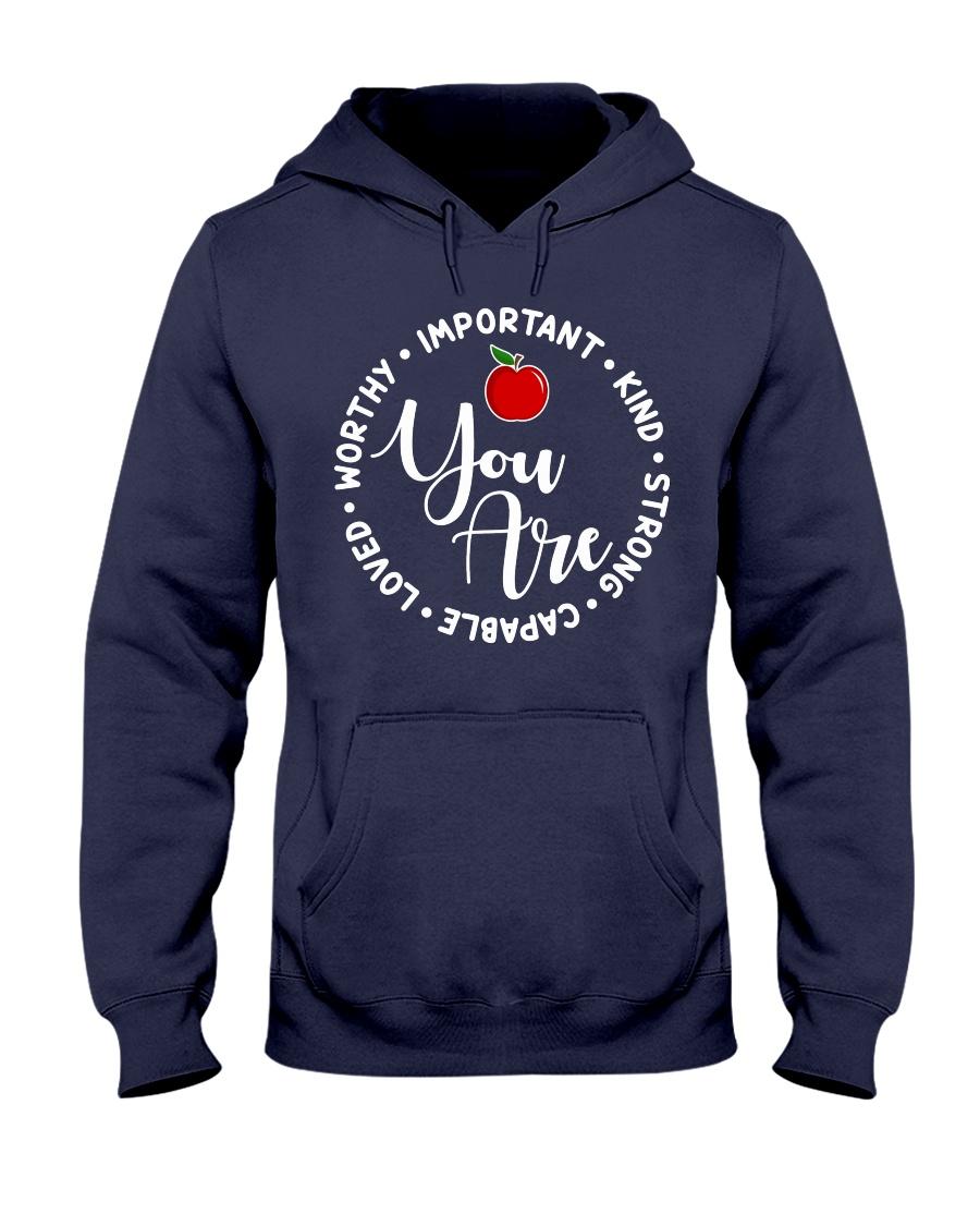 Teacher Love Hooded Sweatshirt