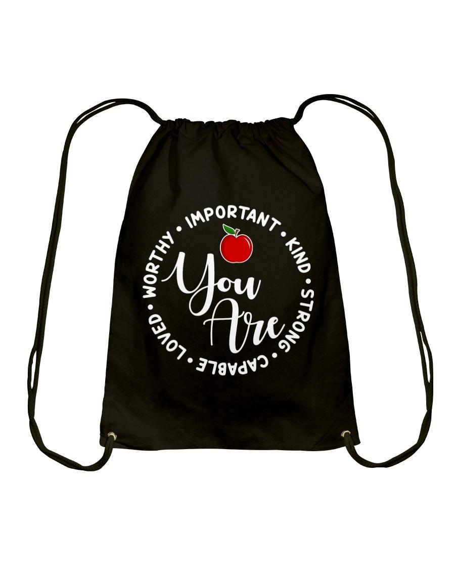 Teacher Love Drawstring Bag