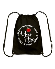 Teacher Love Drawstring Bag thumbnail